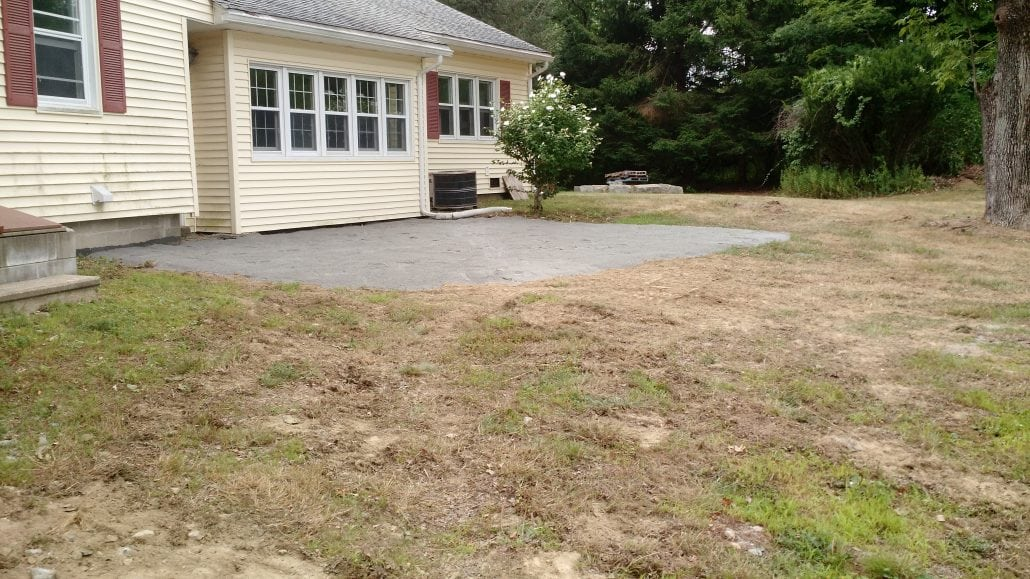 Here is the finished Dover excavation job in which resulted in a beautiful stone patio.